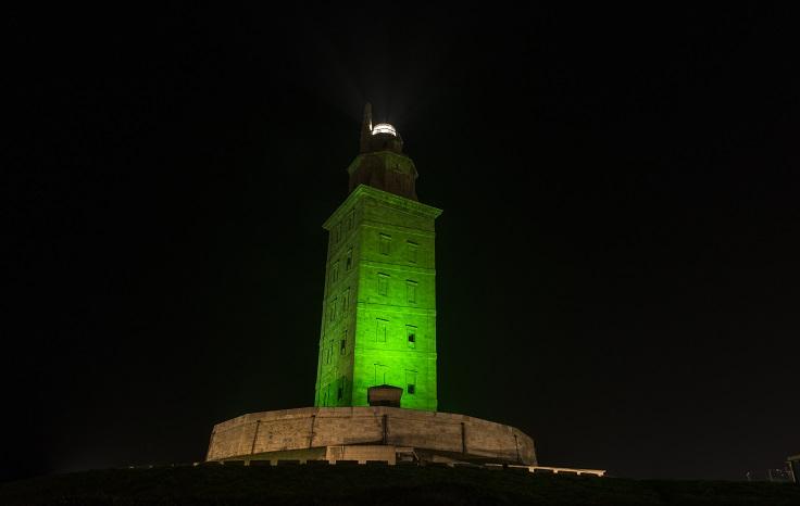 St Patricks Day Torre de Hercules