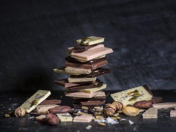 chocolate y semillas