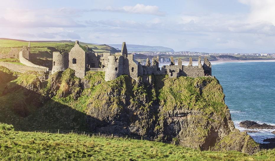 irlanda castillo dunluce