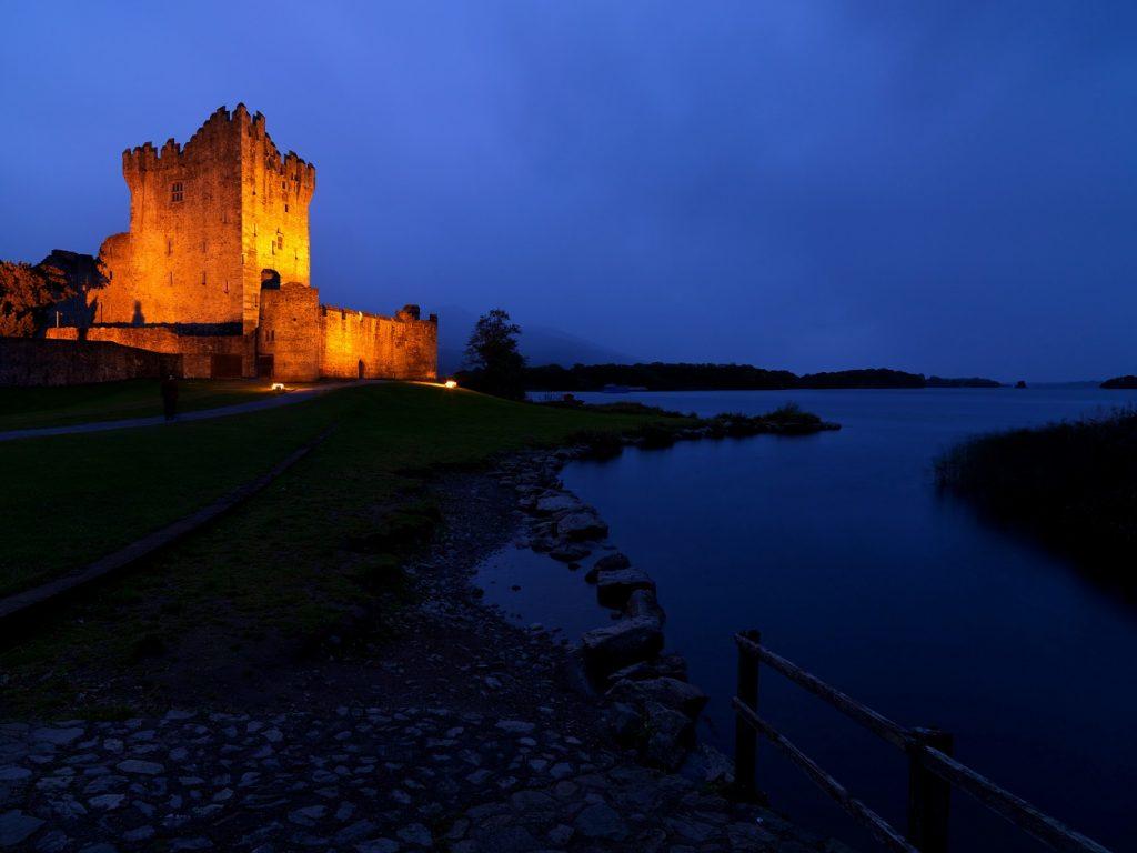 irlanda ross castle